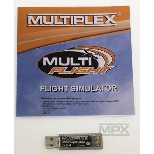 85165 USB-Interface MULTIflight Stick vč. MULTIflight PLUS CD (Windows)