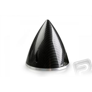 Profi kužel 82mm černý (imitace carbon)