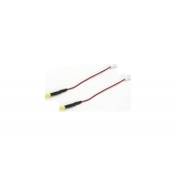 E-flite světelná LED sada - LED žlutá (2)