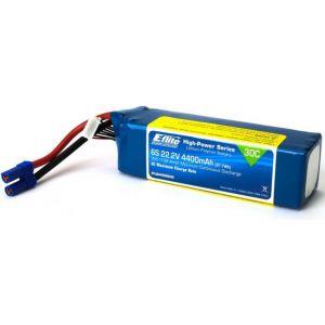 E-flite LiPo 22.2V 4400mAh 30C EC5