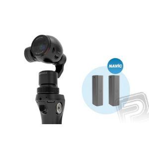 DJI OSMO + mikrofon FM-15 FlexiMic + 2 baterie