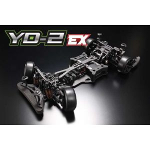 Yokomo YD-2 EX RWD 1:10 Kit driftovacího podvozku (Matné grafitové šasí)