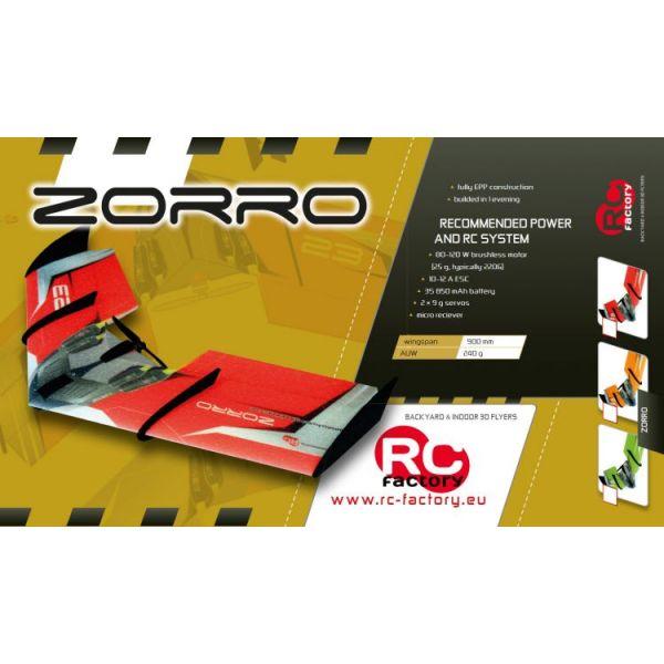 Zorro Wing Red