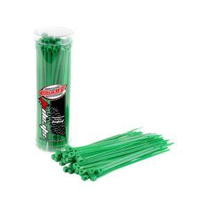 Stahovací pásky 2,5x100mm - 50 ks. - zelené