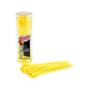Stahovací pásky 2,5x100mm - 50 ks. - žluté