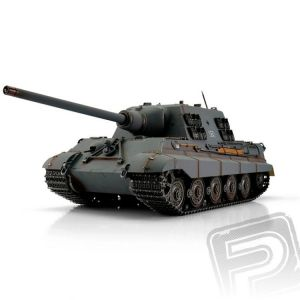 TORRO tank PRO 1/16 RC Jagdtiger šedá kamufláž - infra IR