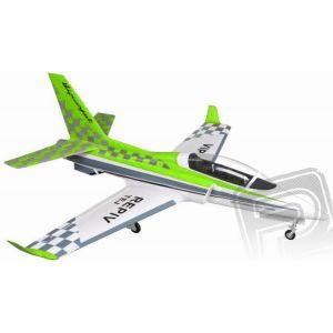 Viper Jet 1450mm EPP - zelený ARF set