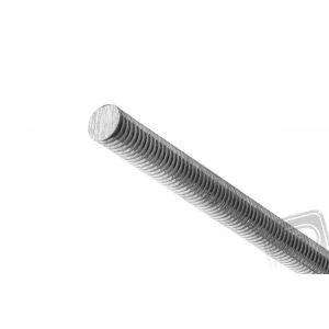 Ocelová závitová hřídel M2, 200mm, 100 ks.