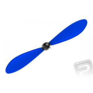 Vrtule včetně kuželu 125 x 110mm / 4,9 x 4,3 - modrá, 100 ks.