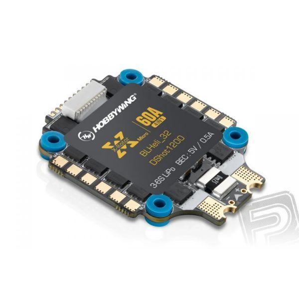 XRotor-Micro-60A-6S-4in1 ESC-BLHeli32-DS1200