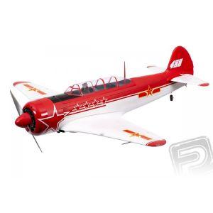 Yak-11 1450mm ARF Červeno/Bílý