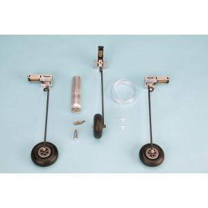 Pneumatický zatahovací podvozek - tříkolý