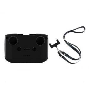 MAVIC AIR 2/2S / Mini 2 - Silikonová ochrana vysílače + popruh vysílače (Black)