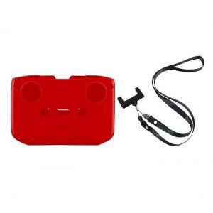 MAVIC AIR 2/2S / Mini 2 - Silikonová ochrana vysílače + popruh vysílače (Red)