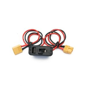MAXI vypínač s nabíjecí zdířkou/kabelem - s XT60 na XT60