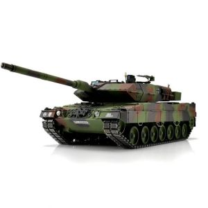 TORRO tank PRO 1/16 RC Leopard 2A6 NATO kamufláž - infra IR - Servo