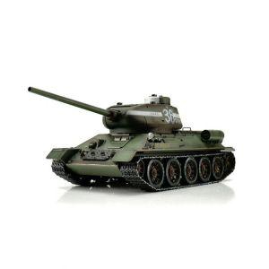 TORRO tank PRO 1/16 RC T-34/85 zelená kamufláž - infra IR - kouř z hlavně