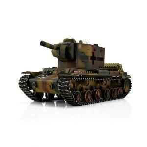 TORRO tank PRO 1/16 RC KV-2 754 (r) vícebarevná kamufláž - Infra IR - kouř z hlavně