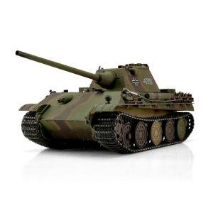 TORRO tank PRO 1/16 RC Panther F vícebarevná kamufláž - infra IR - Servo