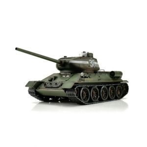 TORRO tank PRO 1/16 RC T-34/85 zelená kamufláž - infra IR - Servo