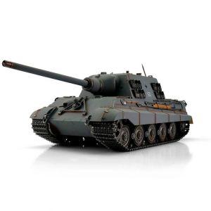 TORRO tank PRO 1/16 RC Jagdtiger šedá kamufláž - infra IR - kouř z hlavně