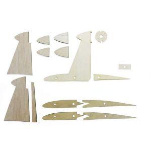 Dřevěné díly pylonu pro Amigo II až V