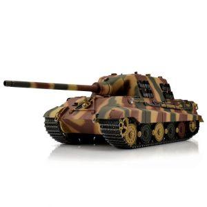 TORRO tank PRO 1/16 RC Jagdtiger vícebarevná kamufláž - BB Airsoft včetně zákluzu hlavně