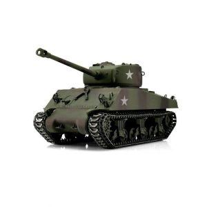 TORRO tank PRO 1/16 RC M4A3 Sherman 76mm maskovací kamufláž - BB Airsoft