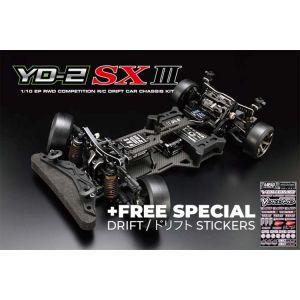 Yokomo YD-2SXIII RWD 1:10 Kit driftovacího podvozku (grafitové šasí)