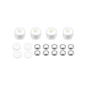 MAVIC - Sada LED světla pro DJI Drones (Type 2) (vč. Aku) (4ks)