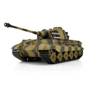 TORRO tank PRO 1/16 RC Königstiger vícebarevná kamufláž - infra IR - Servo