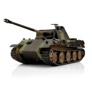 TORRO tank PRO 1/16 RC Panther G vícebarevná kamufláž - infra IR - Servo