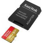 SanDisk MicroSDXC 256GB Extreme A2 UHS-I (V30) U3 + SD adaptér