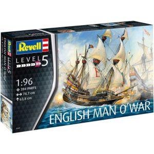 Revell English Man O'War (1:96)