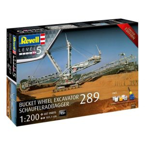 Revell Bucket Wheel Excavator 289 / Schaufelradbagger 289 (1:200) (Gift-Set)