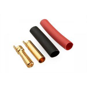 7947/100 G4.0mm pružinový konek.zlatý 100 párů